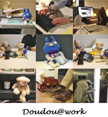 Doudou @ work : les working dad sont là !