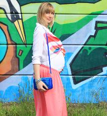 9 mois en couleurs avec Alexandrine du blog Artlex