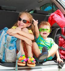 Occuper les enfants en voiture, facile !