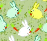 La décoration lapin pour la chambre de bébé