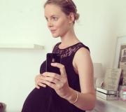 Mathilde du blog La vie en blonde nous parle de ses 9 mois