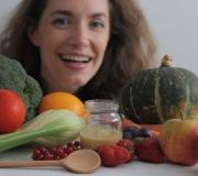 9 mois gourmands avec Christine, de Cubes et Petits pois