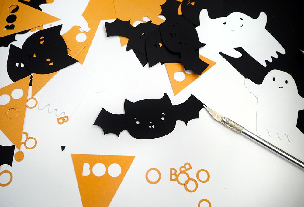 diy une guirlande en papier pour halloween cr ez avec votre enfant nos diy. Black Bedroom Furniture Sets. Home Design Ideas