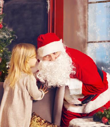 8 bonnes raisons de se déguiser en Père Noël le Jour J