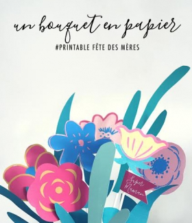 DIY: un bouquet de fleurs en papier