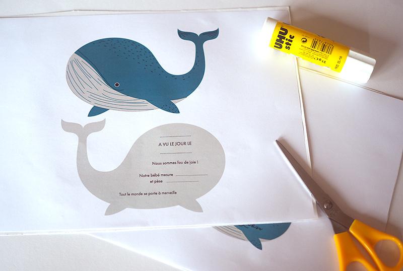 evian bébé - Printable - DIY UN FAIRE PART DE NAISSANCE