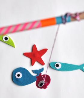 DIY - Un jeu de pêche à la ligne
