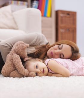 Les vertus de la sieste pour une jeune maman