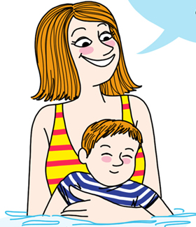 Bébés nageurs, parents frimeurs?